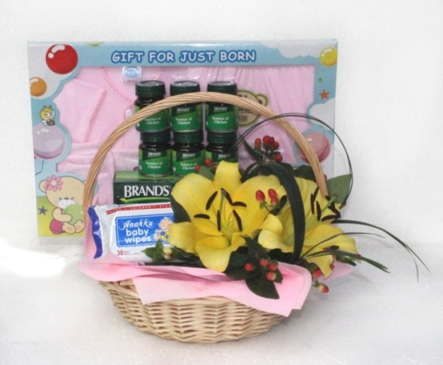 Baby Gift Baskets Malaysia : Baby gifts new born flowers delivery malaysia