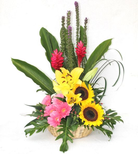 Flower Baskets Delivery : Flower basket delivery malaysia
